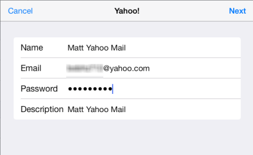 how to add people in yahoo mail app