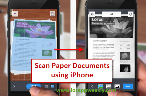 scan app for iphone iphone scanner app scanner pro 2898